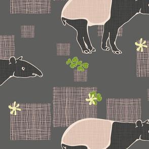 Tapirs around