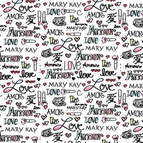 Mary Kay Inspired Fabric Pattern