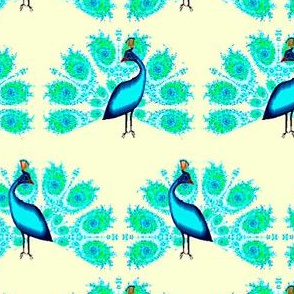 Fractal Peacock 1
