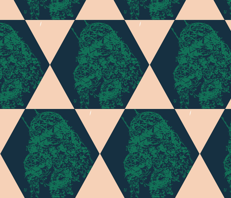Geodesic fabric by sare on Spoonflower - custom fabric