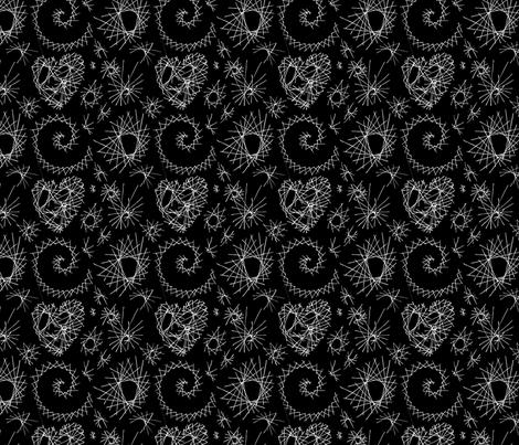geodesic_shapes fabric by katebartholomew on Spoonflower - custom fabric