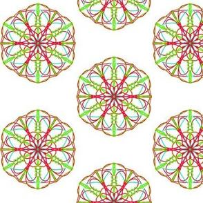 Blooming Hexagon Starflowers