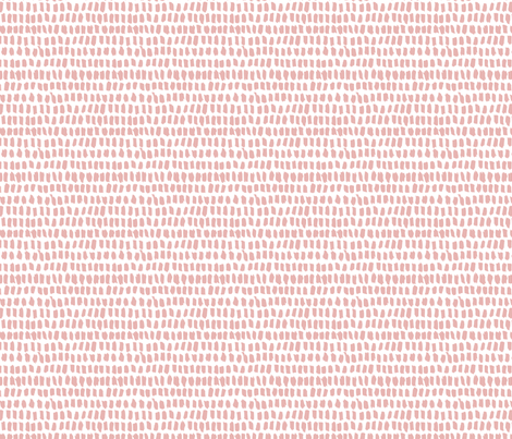 Strokes and stripes abstract scandinavian style brush design girls pastel pink XS fabric by littlesmilemakers on Spoonflower - custom fabric