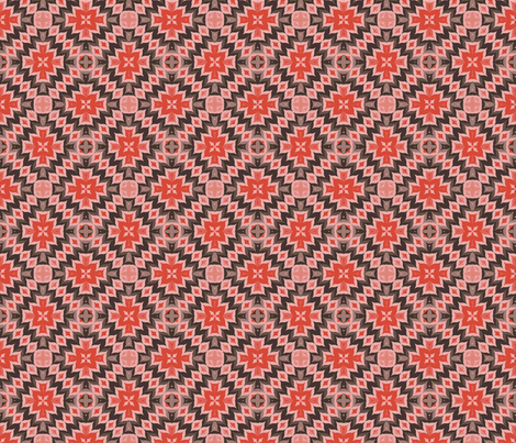 Tribal Design, Multi 03 fabric by anneostroff on Spoonflower - custom fabric