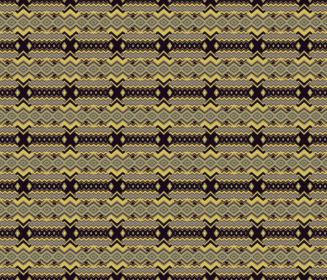 big bumblebee Ziggy fabric by twigsandblossoms on Spoonflower - custom fabric