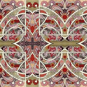 Paisley Love Mandala