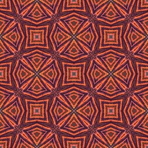 orange red geometry