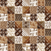 Tangram Marquetry