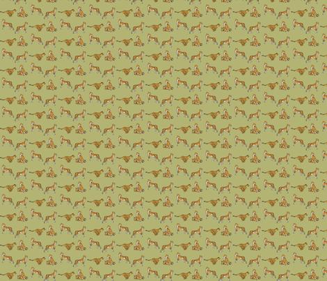 Cheetahs Green fabric by wren_2_0 on Spoonflower - custom fabric