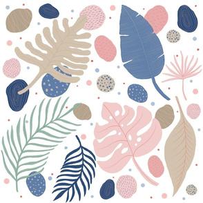 pastel jungle