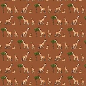 Giraffe_Set_Brown