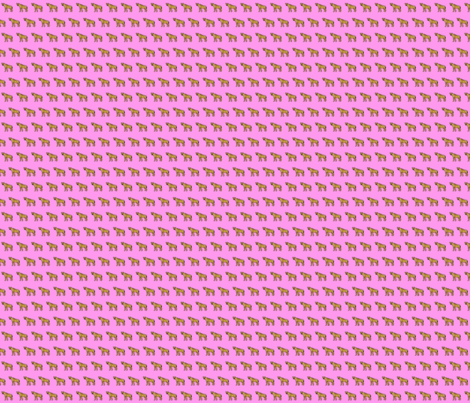 Hyena Pink fabric by wren_2_0 on Spoonflower - custom fabric