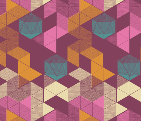Unfolded fabric by mariaspeyer on Spoonflower - custom fabric
