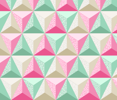 Geodesic Jumble fabric by robyriker on Spoonflower - custom fabric