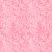 Pink Damask Ragwash X-Small