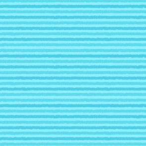 Aqua Mini-Stripes