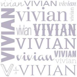 Vivian in Lavender