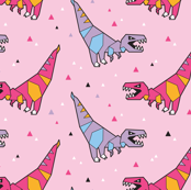 Paper dinosaurs