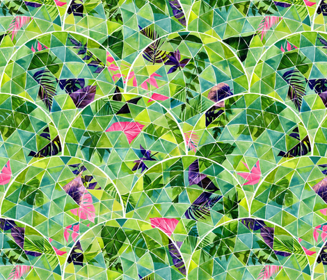 The Eden Project fabric by katebillingsley on Spoonflower - custom fabric
