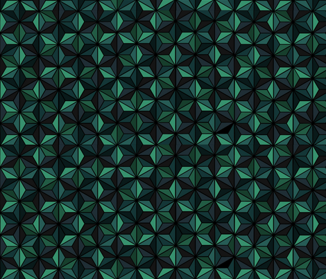 Clover fabric by endla on Spoonflower - custom fabric