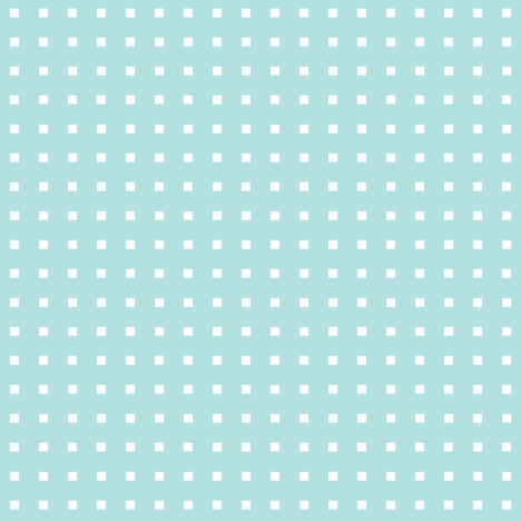 robot polkadot aqua fabric by heleenvanbuul on Spoonflower - custom fabric