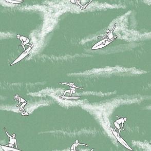 Surfers on Sage