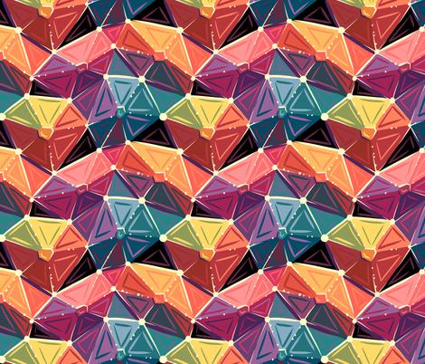 Geodesic Glam fabric by hollybender on Spoonflower - custom fabric