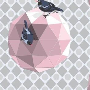 Geodesic_Birdhouse_pink