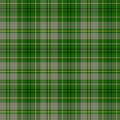 Taylor family tartan, weathered grey/green
