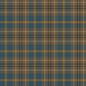 Taylor family tartan, weathered slate blue