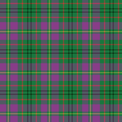Taylor family tartan, purple