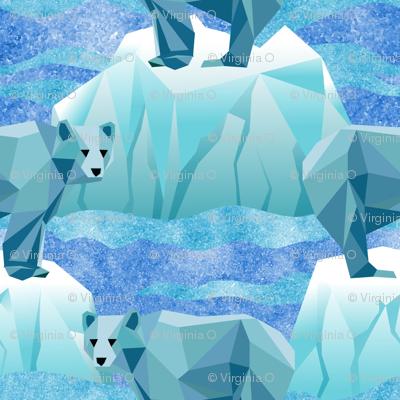Save Our Geodesic Polar Bears!