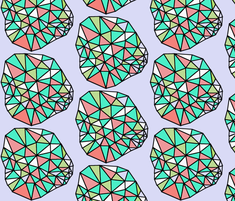 GEODESIC fabric by lesliecassidy on Spoonflower - custom fabric