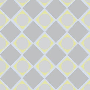 Diamonds and Pearls Geometric_muted blue