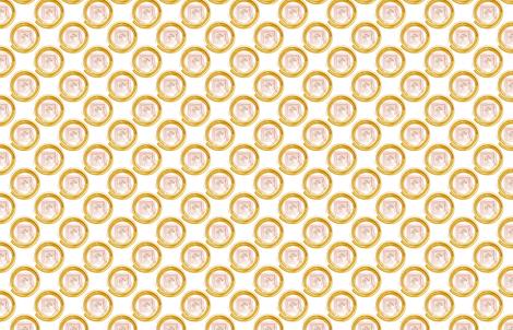 Minimalist Mandala fabric by numberfiveprintco on Spoonflower - custom fabric