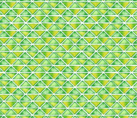 Watercolor geodesic pattern fabric by notyet on Spoonflower - custom fabric
