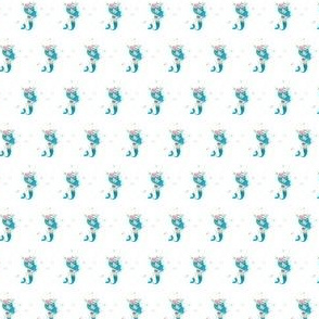 ".75"" Blue Mermaid / Mix & Match"