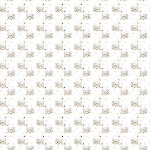 ".75"" White Swan Floral"