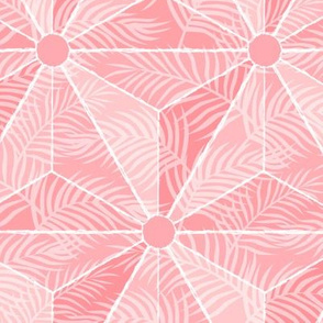 Geodesic Palm Pink