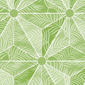 Geodesic Palm Greenery