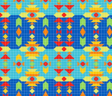 Southwest_Geometry fabric by julistyle on Spoonflower - custom fabric