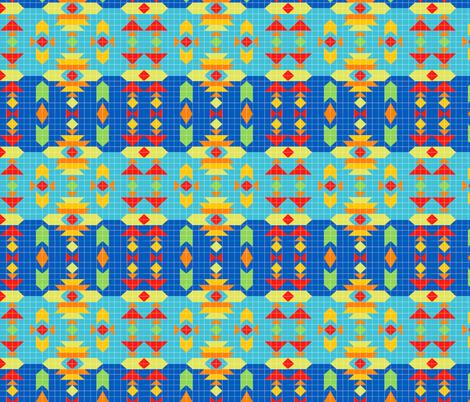 Southwest_Geometry fabric by julistyle on Spoonflower - custom fabric
