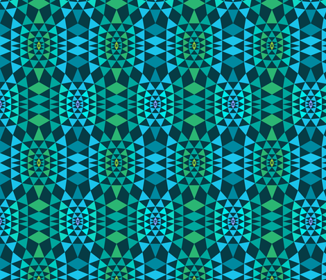 Geodesic fabric by wildnotions on Spoonflower - custom fabric