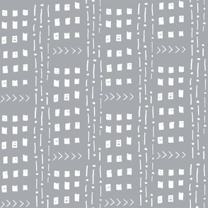 mudcloth inspired fabrics - black and white fabric