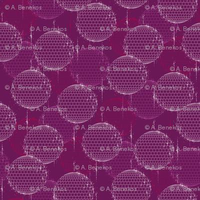 Disco Ball - Plum
