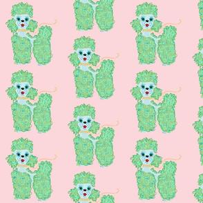 Mint Poodle Parade