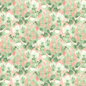 PaddleCactus Pale green Blush Small Scale