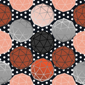 Geodesics on dots, another Bucky tribute by Su_G