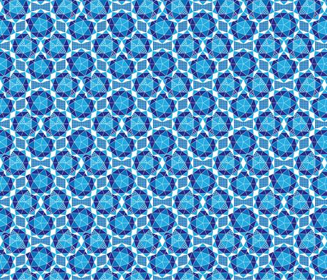 Geodesic fabric by carimateo on Spoonflower - custom fabric