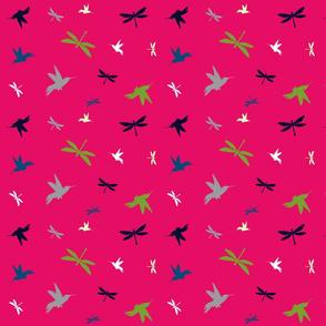 Swarm - Fuchsia